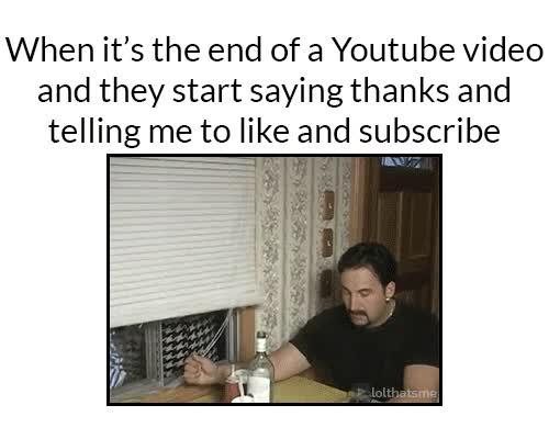 Enlace a Cuando llegamos a la parte final de los vídeos de Youtube