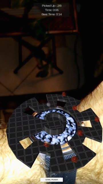 Enlace a Juegos de Realidad Aumentada desde tu reloj