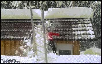 Enlace a La manera más inteligente de sacar la nieve de tu tejado