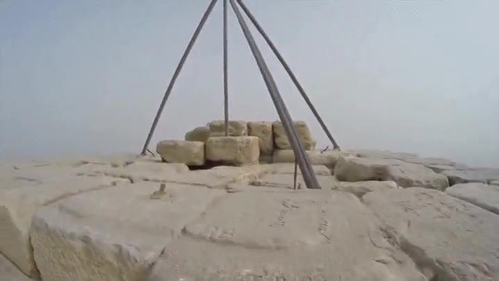 Enlace a Vista ilegal desde la pirámide de Keops. Simplemente alucinante