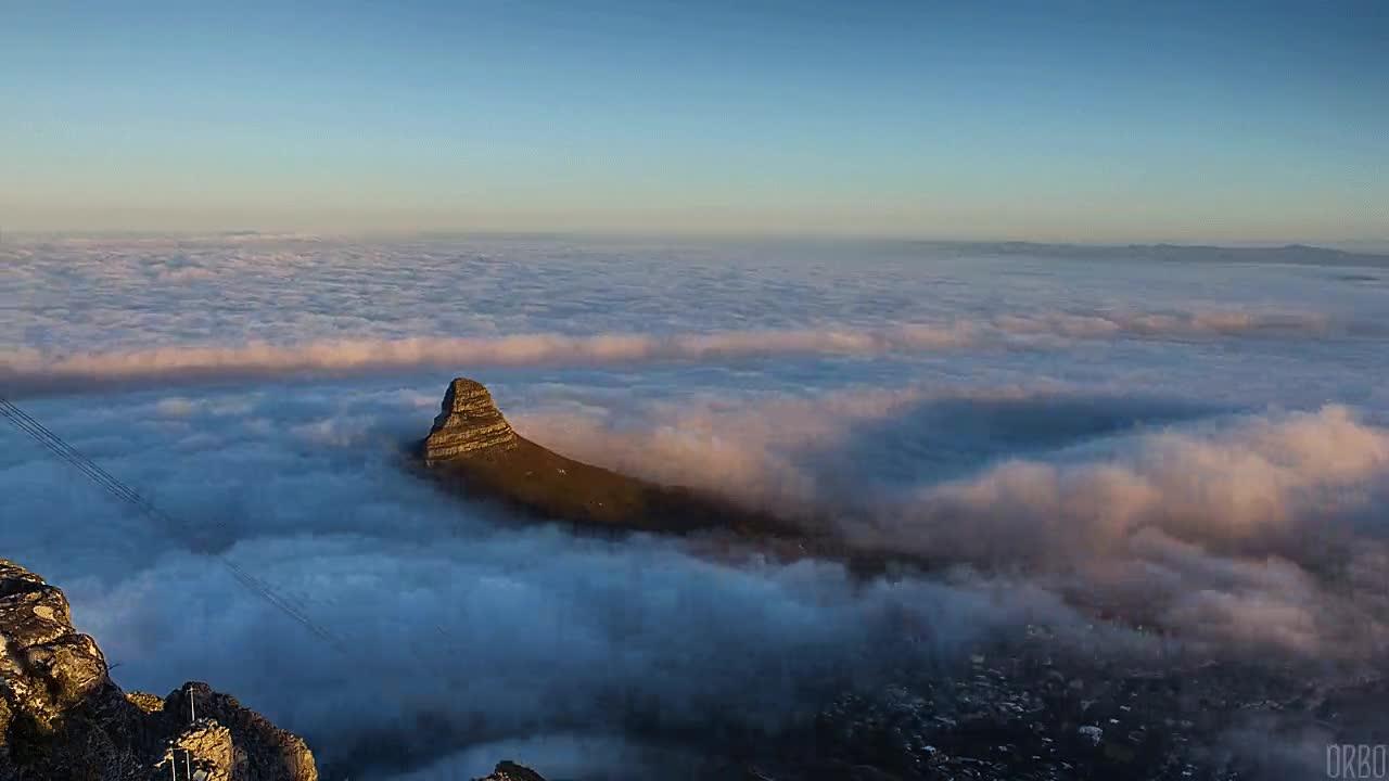 Enlace a Impresionante paisaje desde Cabeza de León (Sudáfrica)