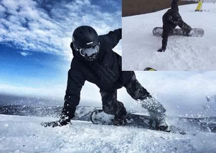 Enlace a Y de esta forma tan cutre se logra un verdadero fotón en la nieve
