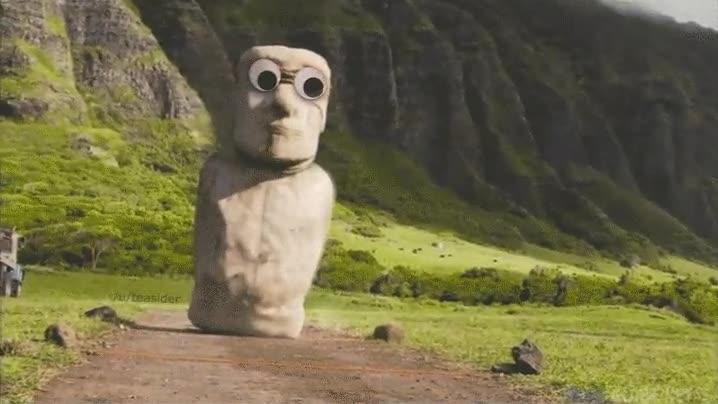 Enlace a Creo que alguien ha estado trasteando con los Moais de la Isla de Pascua