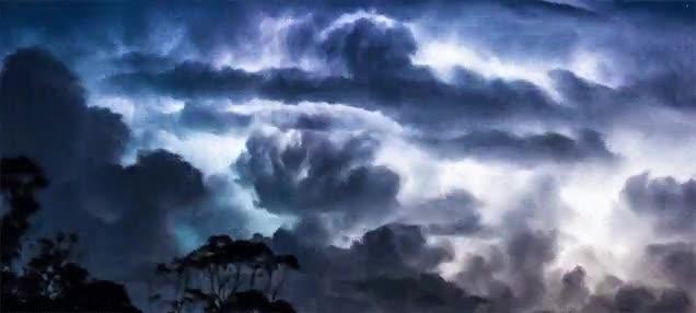 Enlace a La típica tormenta australiana que parece el fin del mundo