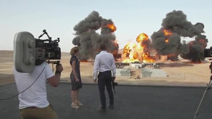Enlace a Así se filmó la espectacular escena de James Bond: Spectre