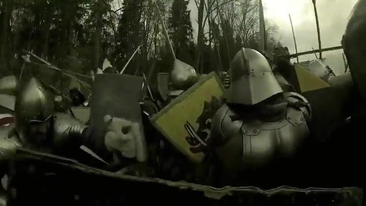 Enlace a Batallas medievales a vista de GoPro
