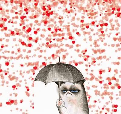 Enlace a Grumpy Cat en San Valentín