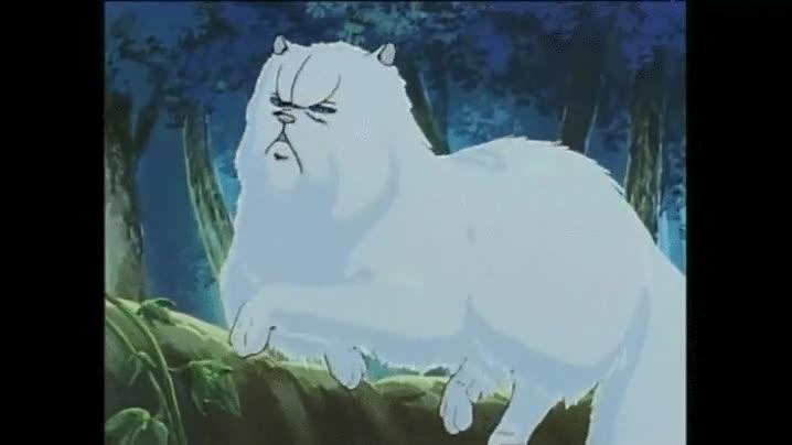 Enlace a Gatos en animes antiguos. Realismo máximo