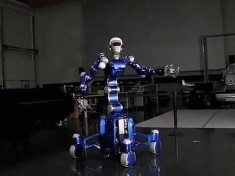 Enlace a Robot atrapando una pelota. Skynet estará orgullosa