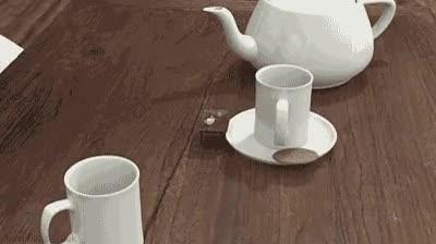 Enlace a Tomando té de forma infinita