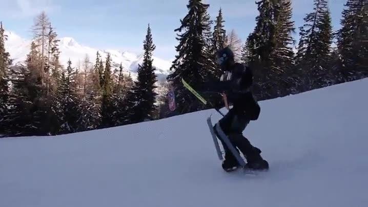 Enlace a Los transformers también se lo pasan bien esquiando