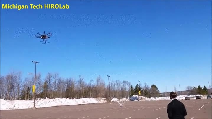 Enlace a Drones utilizando avanzadas técnicas de cazas. El fin está de cerca