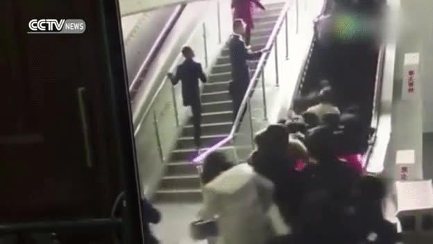 Enlace a Creo que nunca más usaré las escaleras mecánicas