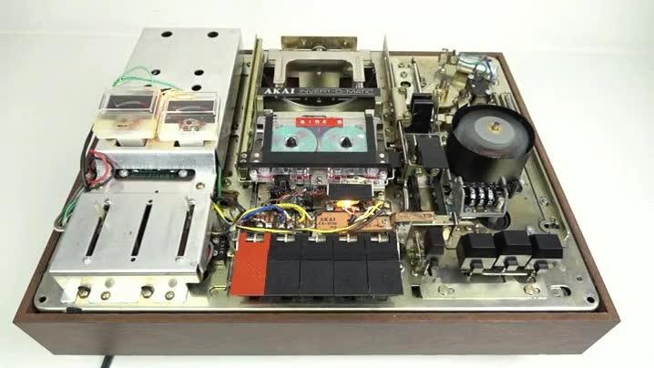 Enlace a Así funcionaba el cambió automático de cara en un reproductor de 1972