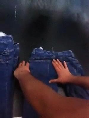 Enlace a Así es cómo se hacen los tejanos rotos