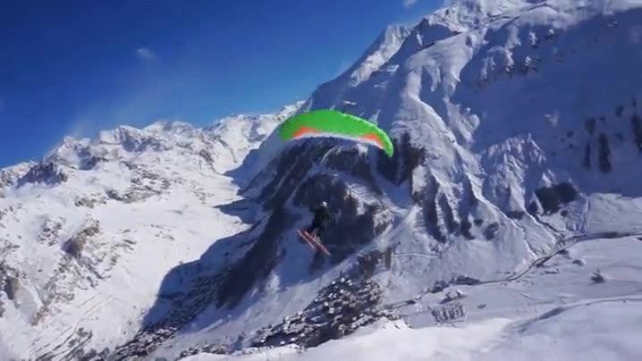Enlace a La forma más espectacular de descender por los Alpes