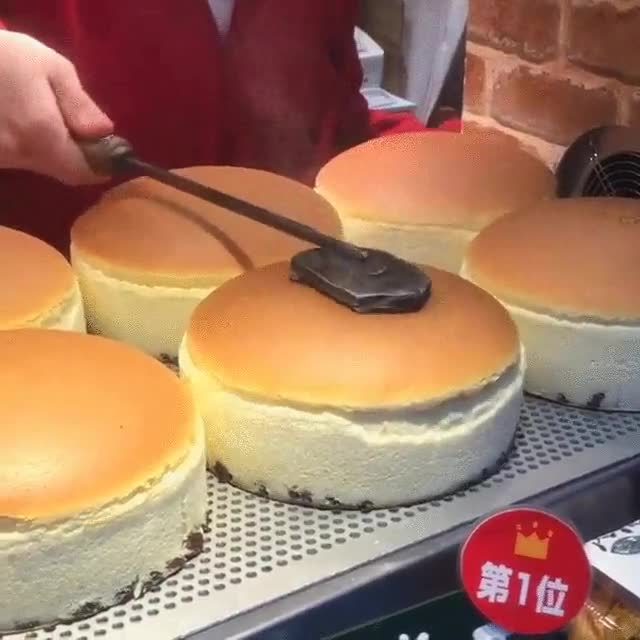 Enlace a El efecto de estos pasteles rebotando es lo más hipnótico que verás hoy