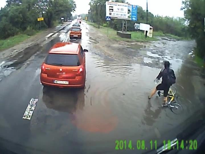 Enlace a Ciclistas que están teniendo un día horrible