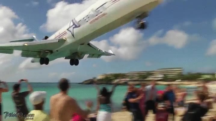 Enlace a Momento de tensión máximo. ¿Te atreverías a ver un aterrizaje de este modo?