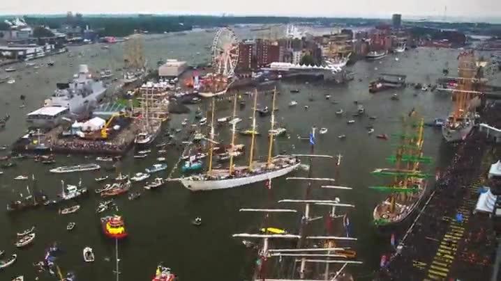 Enlace a Espectacular timelapse del puerto de Amsterdam