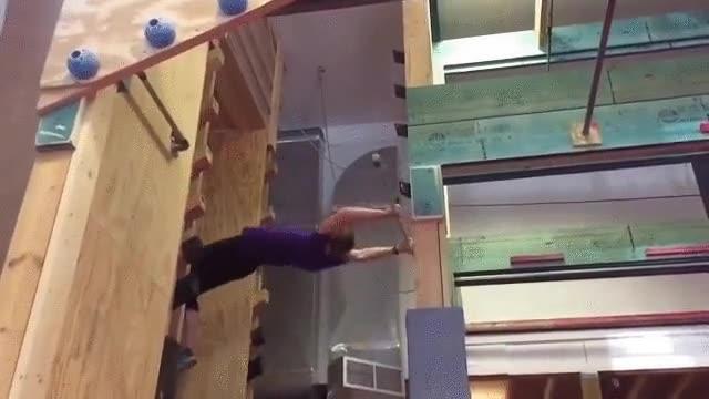 Enlace a Llevando la gimnasia hacia el próximo nivel, literalmente