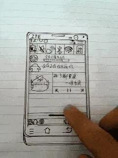 Enlace a Interfaz de Android estilo oldschool