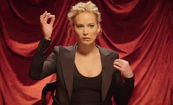 Enlace a Jennifer Lawrence es una actriz con muchos talentos