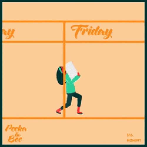 Enlace a Definición gráfica de los días de la semana