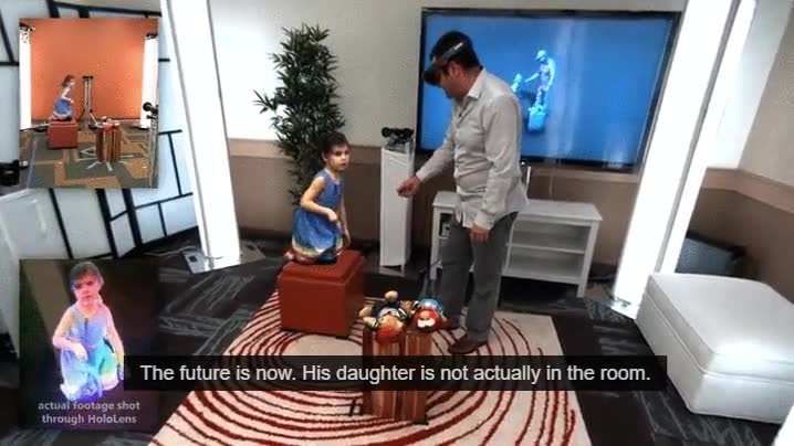 Enlace a Bienvenidos al futuro, Los hologramas de Star Wars ya son una realidad