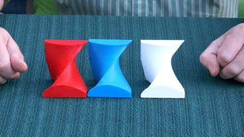 Enlace a Lo que pasa cuando unes estas tres piezas de igual forma