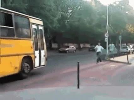 Enlace a La forma más fácil de trollear al conductor del autobús