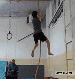 Enlace a La forma más alucinante de subir una cuerda