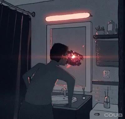 Enlace a El universo está justo en el otro lado del cristal de tu baño