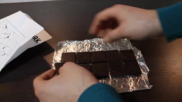 Enlace a Cuando tienes la gran idea de comprar chocolate en el Ikea