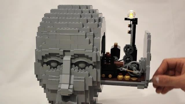 Enlace a El funcionamiento de una mente pensante según LEGO