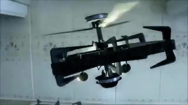 Enlace a Dron de asalto perfectamente camuflado