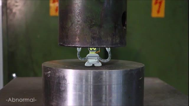 Enlace a Hacer pasar por esto al bueno de Bender es bastante cruel