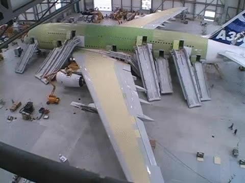 Enlace a Simulacro de evacuación de un Airbus A380