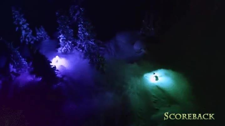 Enlace a Esquiar de noche es tan bello como peligroso