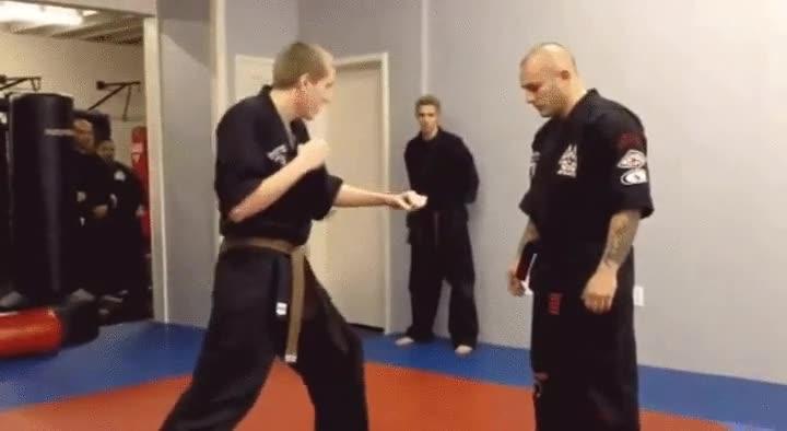 Enlace a Un verdadero maestro utiliza cualquier técnica para ganar un combate