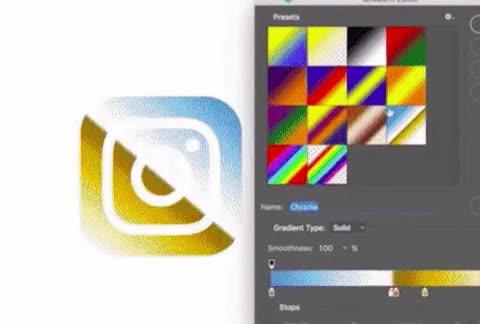 Enlace a Diseñando el nuevo logo de Instagram