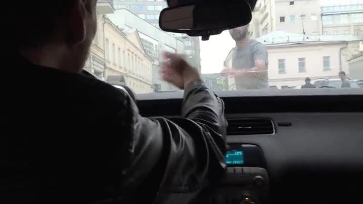 Enlace a La típica discusión entre un conductor y un peatón