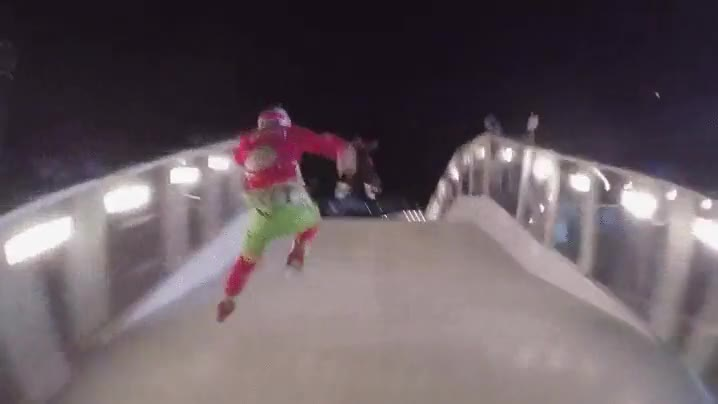 Enlace a Carrera de patinaje a velocidades extremas