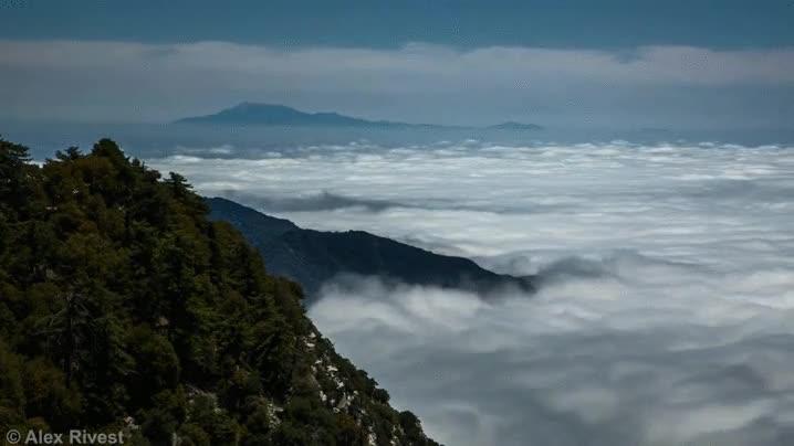Enlace a Un mar de nubes. Una de las cosas más relajantes del mundo