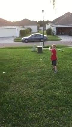 Enlace a Cuando juegas a baseball con tu hijo y descubres que tiene un tremendo talento