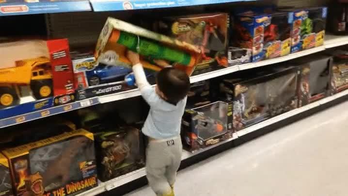 Enlace a Es aconsejable probar los juguetes antes de llevárselos a casa