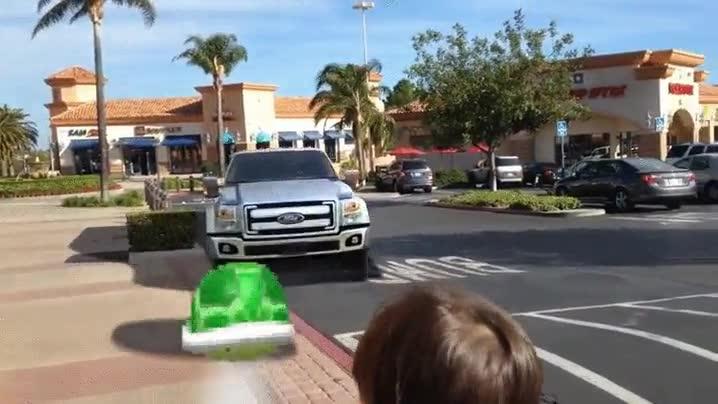 Enlace a Mario Kart en la vida real
