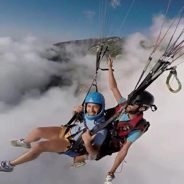 Enlace a Momento de relax por encima de las nubes