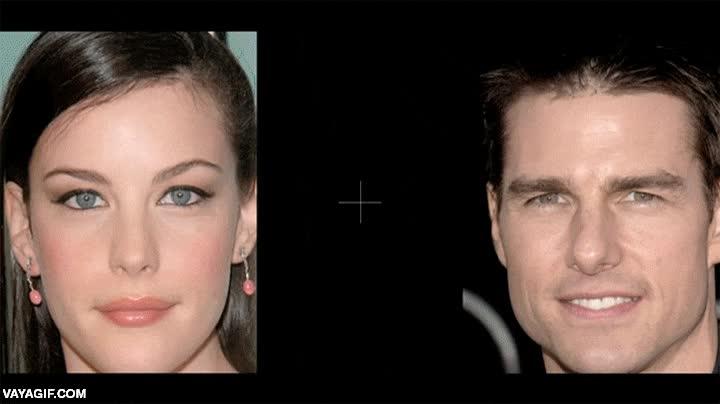 Enlace a Si fijas la vista en el centro tu visión periférica deformará las caras de estos famosos