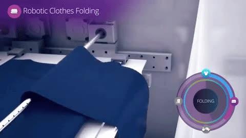 Enlace a Por fin han inventado la máquina que te dobla la ropa de forma perfecta